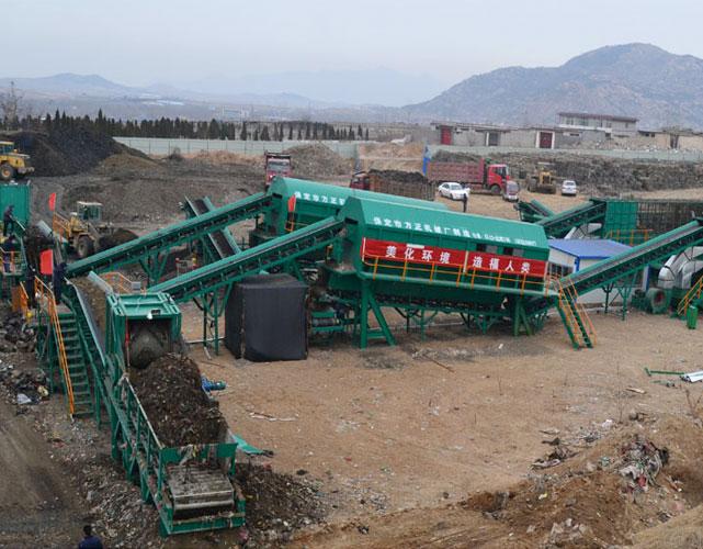 山东泰安垃圾填埋场治理工程