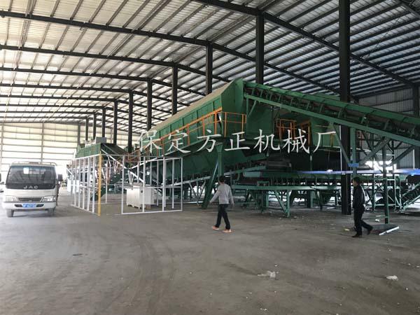 河北容城陈腐垃圾处理项目