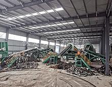 山东青岛崂山陈腐垃圾处理设备